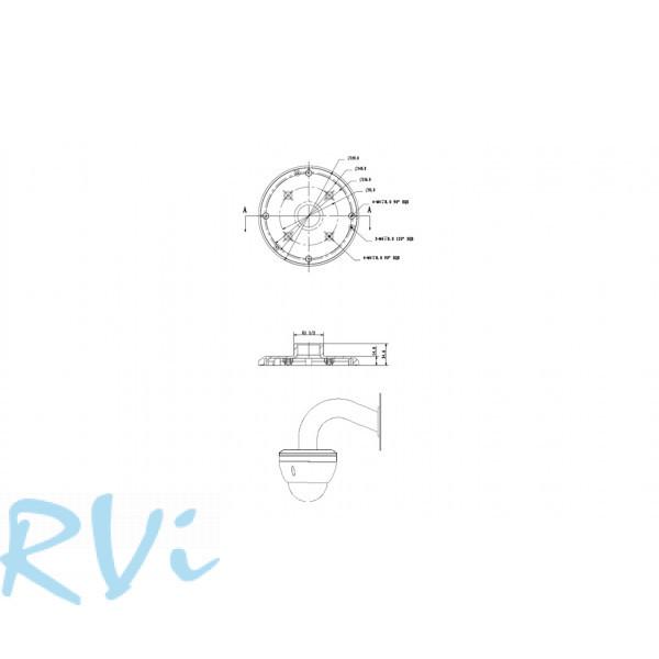 Адаптер для настенного кронштейна RVi-BA2