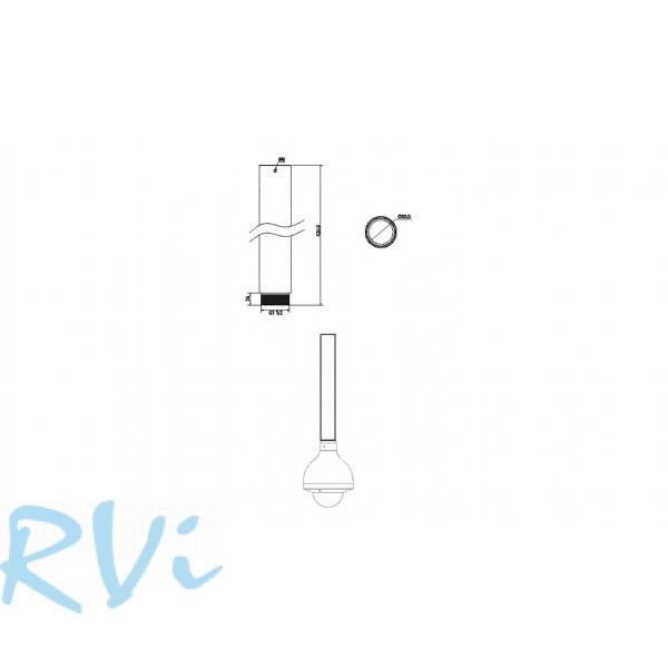 Удлинитель к потолочному кронштейну RVi-BHL2