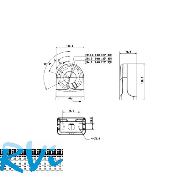 Настенный кронштейн RVi-BW3