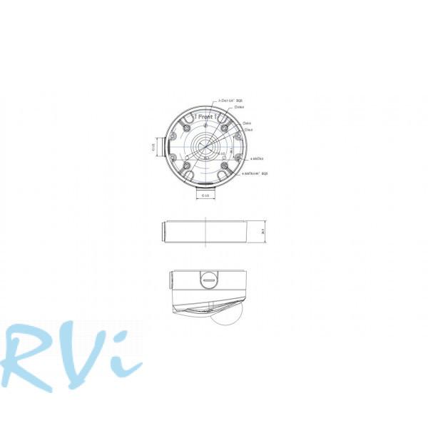 Монтажная коробка RVi-MB6